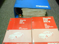 1995 Mazda 626 MX-6 MX6 Service Repair Shop Manual SET OEM FACTORY BOOKS x