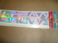 Optix Graphics Heavy Chevy See Thru Decal Official Licensed Chevrolet