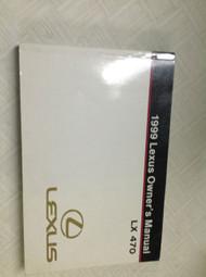 1999 LEXUS LX470 LX 470 Owners Manual FACTORY DEALERSHIP GLOVE BOX GUIDE OEM NEW