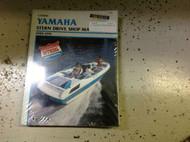 1989 1990 1991 YAMAHA STERN DRIVE Shop Service Repair Manual CLYMERS x