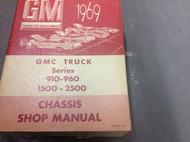 1969 GMC TRUCK SERIES 910 960 1500 2500 Service Shop Repair Manual OEM 69 CDN