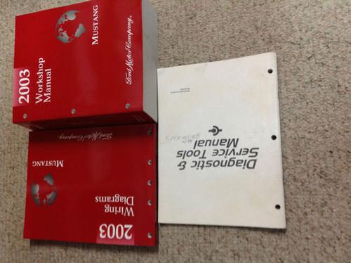 2003 Ford Mustang Gt Cobra Mach Service Shop Repair Manual