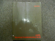 1996 97 98 99 2000 ACURA 3.5 Electrical Troubleshooting Manual DUAL YEAR OEM 00