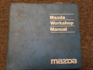 1992 Mazda 929 Service Repair Shop Manual FACTORY DEALERSHIP OEM BOOK 92