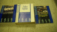 1989 Oldsmobile CUTLASS SUPREME Service Shop Repair Manual Set 89 DEALERSHIP OEM