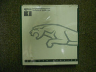 1990S 00s Jaguar All Models Technical Service Bulletins Shop Manual FACTORY OEM