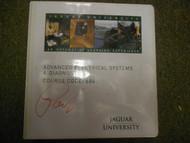 1997 2005 Onwards Jaguar All Models Advanced Electrical Systems Shop Manual