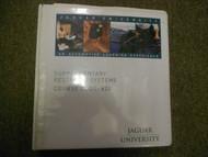 1988 2005 Onwards Jaguar All Models Supplementary Restraint Systems Shop Manual