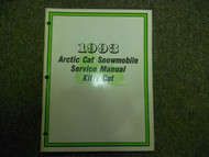 1993 Arctic Cat Kitty Cat Service Repair Shop Manual FACTORY OEM BOOK 93