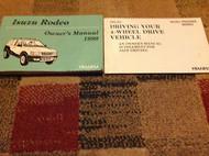 1999 ISUZU RODEO Owners Manual OEM FACTORY BOOK ISUZU MOTORS 1999 RODEO NICE x