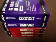 2006 Chevrolet Chevy Corvette Service Shop Repair Manual Set UNIT REPAIR BOOKS x