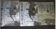 2005 FORD FREESTYLE FIVE HUNDRED 500 MONTEGO Service Shop Repair Manual Set OEM