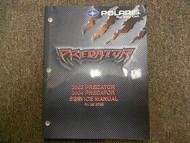 2003 2004 Predator Service Repair Shop Manual FACTORY OEM BOOK 03 04 DEALERSHIP
