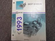 1993 Ski Doo Snowmobile Service Repair Shop Manual Factory OEM Book 93 x