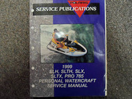 1999 Polaris SLH SLTH SLTX PRO 785 Service Repair Shop Manual FACTORY OEM BOOK