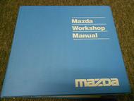 2000 Mazda B-Series Truck Service Repair Shop Manual FACTORY OEM BOOK 2000 x