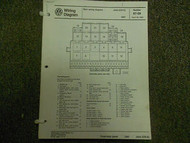 1987 VW JETTA CIS E Main Wiring Diagram Service Repair Shop Manual MISSING EEC