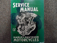 1940 1941 1942 1943 1944 Harley Davidson Big Twin Service Repair Shop Manual NEW