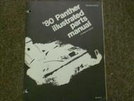1980 Arctic Cat Panther Service Repair Shop Manual Illustrated FACTORY OEM