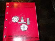 1980 FORD LIGHT DUTY F100 F150 F250 ECONOLINE TRUCKS PARTS Catalog Manual OEM