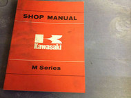 1972 1973 1974 1975 1976 Kawasaki M M SERIES Service Repair Shop Manual OEM BOOK