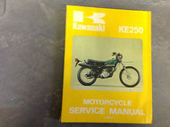 1975 1976 1977 KAWASAKI KE250 KE 250 Service Repair Shop Manual 9993150101 OEM