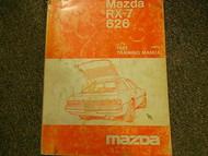 1981 Mazda RX-7 RX7 626 Training Service Repair Shop Manual FACTORY OEM BOOK x