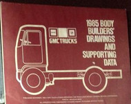 1985 GMC Medium & Heavy Duty Truck Body Builders Book Manual