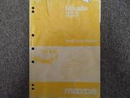 1985 Mazda 323 Bodyshop Service Repair Shop Manual FACTORY OEM BOOK 85 DAMAGED