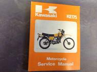 1979 1982 KAWASAKI KE175 KE 175 Service Shop Repair Manual 99924102004 FACTORY