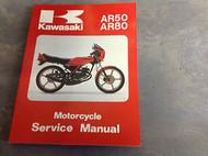 1981 1982 KAWASAKI AR50 AR80 AR MOTORCYCLE Service Repair Shop Manual OEM BOOK