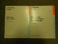 1992 VW In Dealership Training Service Repair Shop Manual Workbook SET 2 VOL OEM