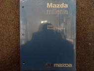 2000 Mazda Millenia Electrical Wiring Service Repair Shop Manual FACTORY OEM x