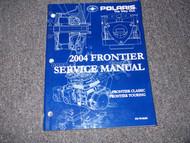 2004 Polaris FRONTIER Snowmobile Shop Repair Service Manual FACTORY OEM BOOK X