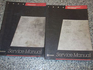 1985 Dodge CARAVAN Service Repair Shop Manual SET OEM FACTORY BOOK 85