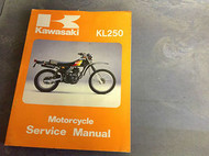1980 1981 1982 1983 KAWASAKI KL250 KL 250 Service Shop Manual A3 A4 A5 B1 C1 OEM