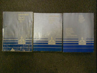 1987 MITSUBISHI Mirage Service Repair Shop Manual 3 VOL SET FACTORY BOOK 87 OEM