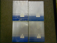1987 MITSUBISHI Cordia Tredia Service Repair Shop Manual 4 VOL SET FACTORY OEM