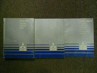 1987 MITSUBISHI Galant Service Repair Shop Manual SET FACTORY OEM 3 VOL SET