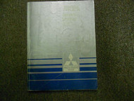 1987 MITSUBISHI Truck Service Repair Shop Manual Electrical Volume 2 OEM BOOK 87