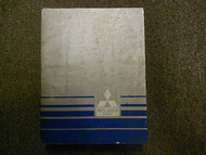 1987 MITSUBISHI Truck Service Repair Shop Manual VOL 1 Engine Chassis Body 87