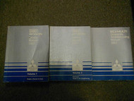 1987 MITSUBISHI Van Wagon Service Repair Shop Manual FACTORY 3 VOL SET OEM 87