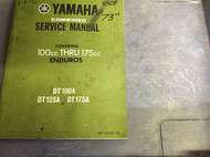 1972 1973 1974 YAMAHA ENDUROS 100CC 175CC DT100A DT125A 175 Shop Service Manual