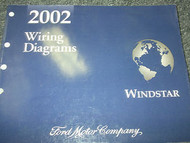 2002 Ford WINDSTAR MINI VAN Wiring Electrical Diagrams Service Shop Manual EWD