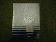 1989 MITSUBISHI Mirage Service Repair Shop Manual Volume 2 Electrical OEM 89