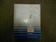 1990 MITSUBISHI Sigma V6 VOL 1 Engine Chassis Body Service Repair Shop Manual 90