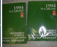 1994 OLDS OLDSMOBILE ACHIEVA Service Repair Shop Manual Set DEALERSHIP 94