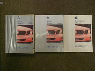 1992 MITSUBISHI Diamante Service Repair Shop Manual SET OEM 92 FACTORY DEAL 3 V
