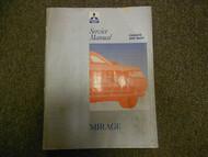 1993 MITSUBISHI Mirage Service Repair Shop Manual Vol 1 Chassis Body DEALERSHIP