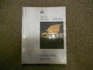 1993 MITSUBISHI Diamante Wagon Service Repair Shop Manual Volume 3 FACTORY OEM